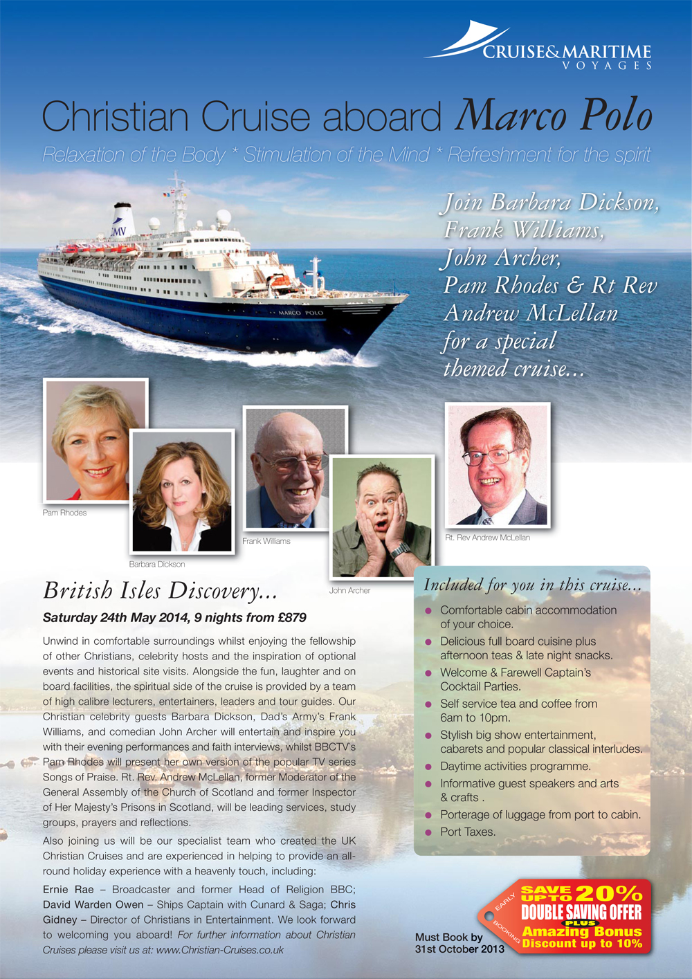 Christian Cruises - 2014 - Page 1