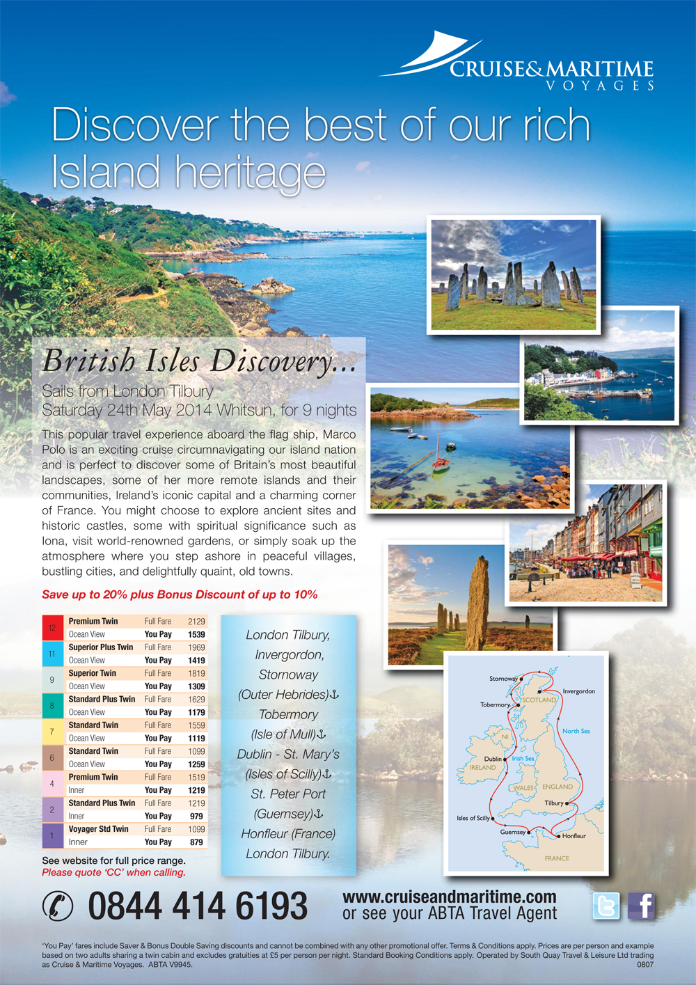 Christian Cruises - 2014 - Page 2